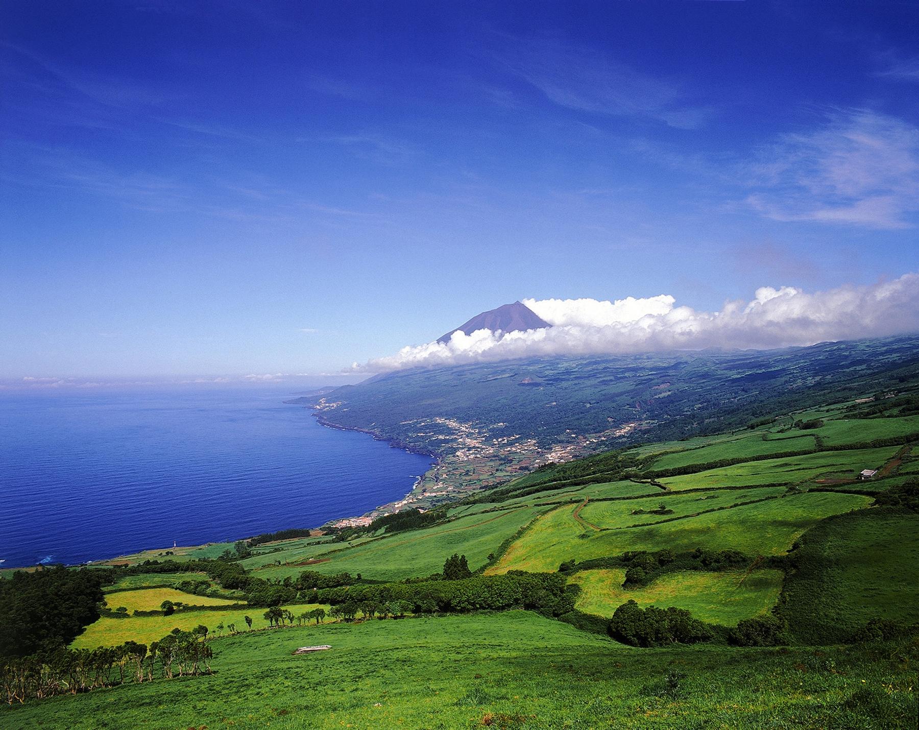 Pico Islandm the Azores