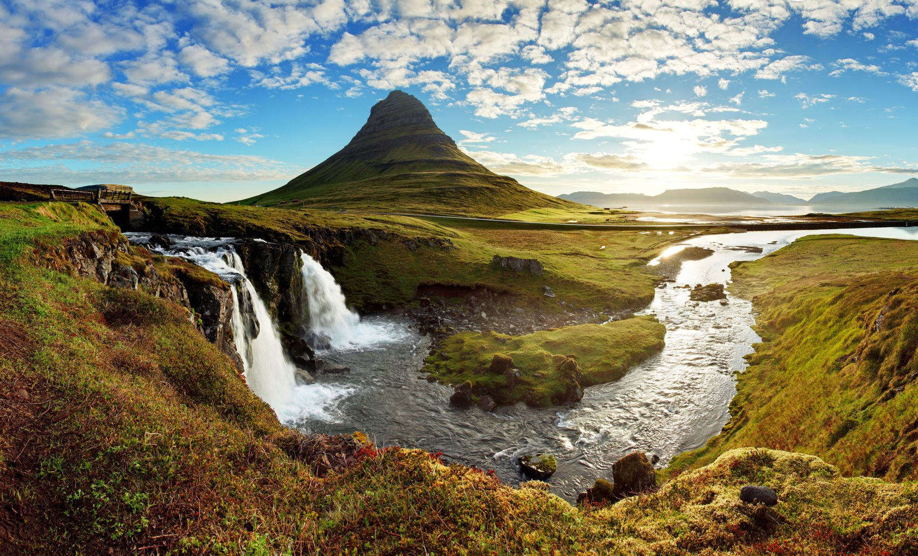 River in the Icelandic countryside - one of the best family destinations for 2019
