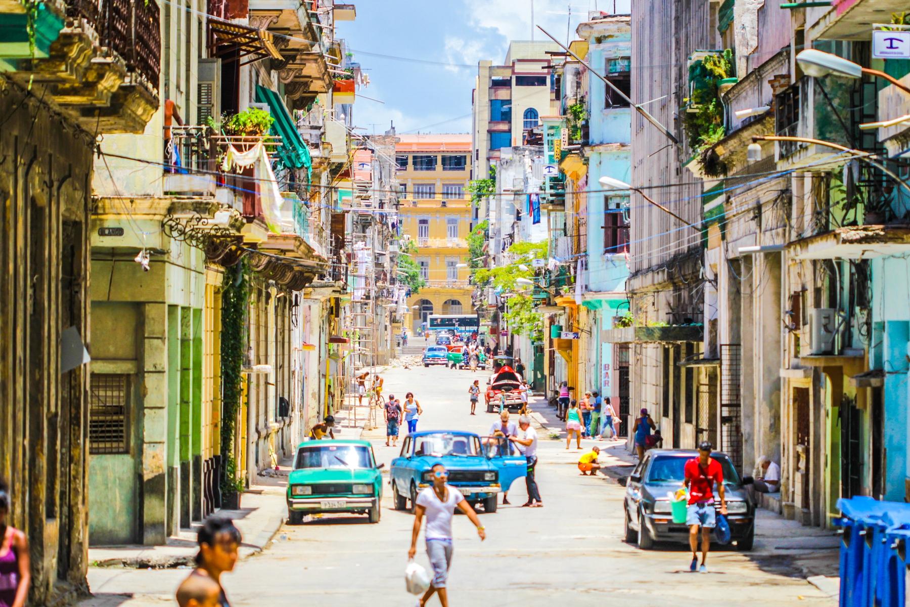 Cuba is hot hot hot in October