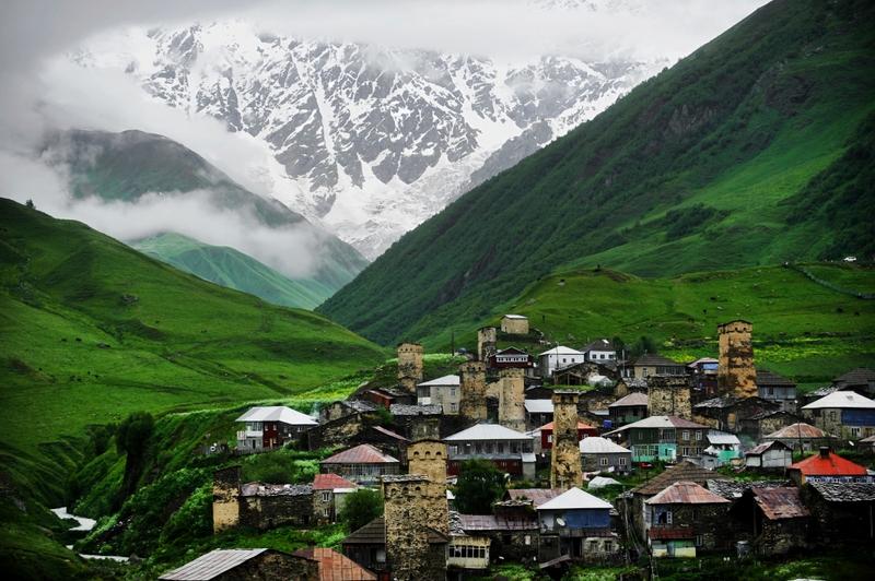 Viaggio in Georgia: Ushguli