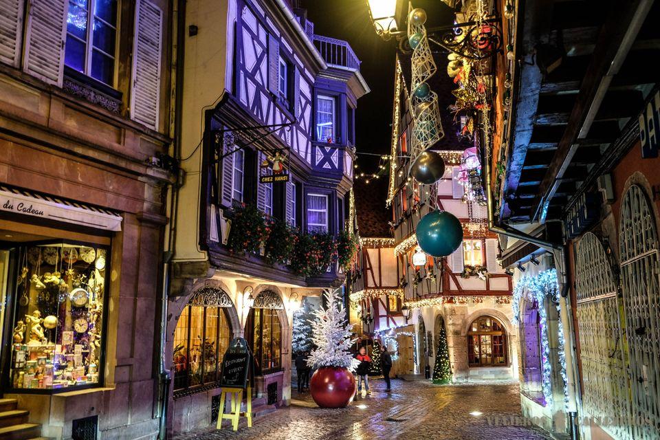 navidad en alsacia - foto de viajeros callejeros
