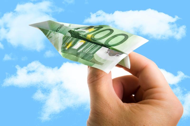 money airplane