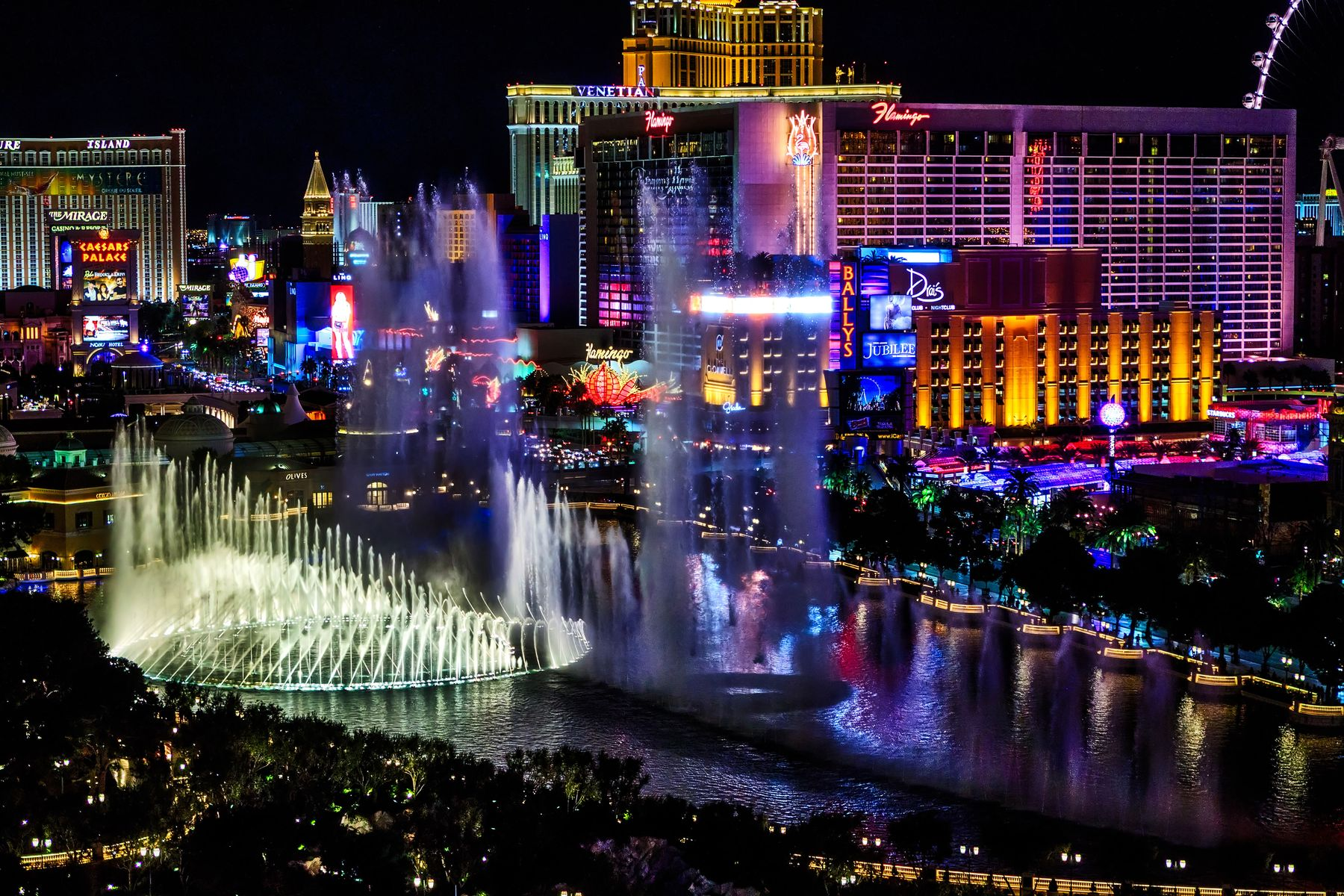 Las Vegas is a great destination for a holiday in March