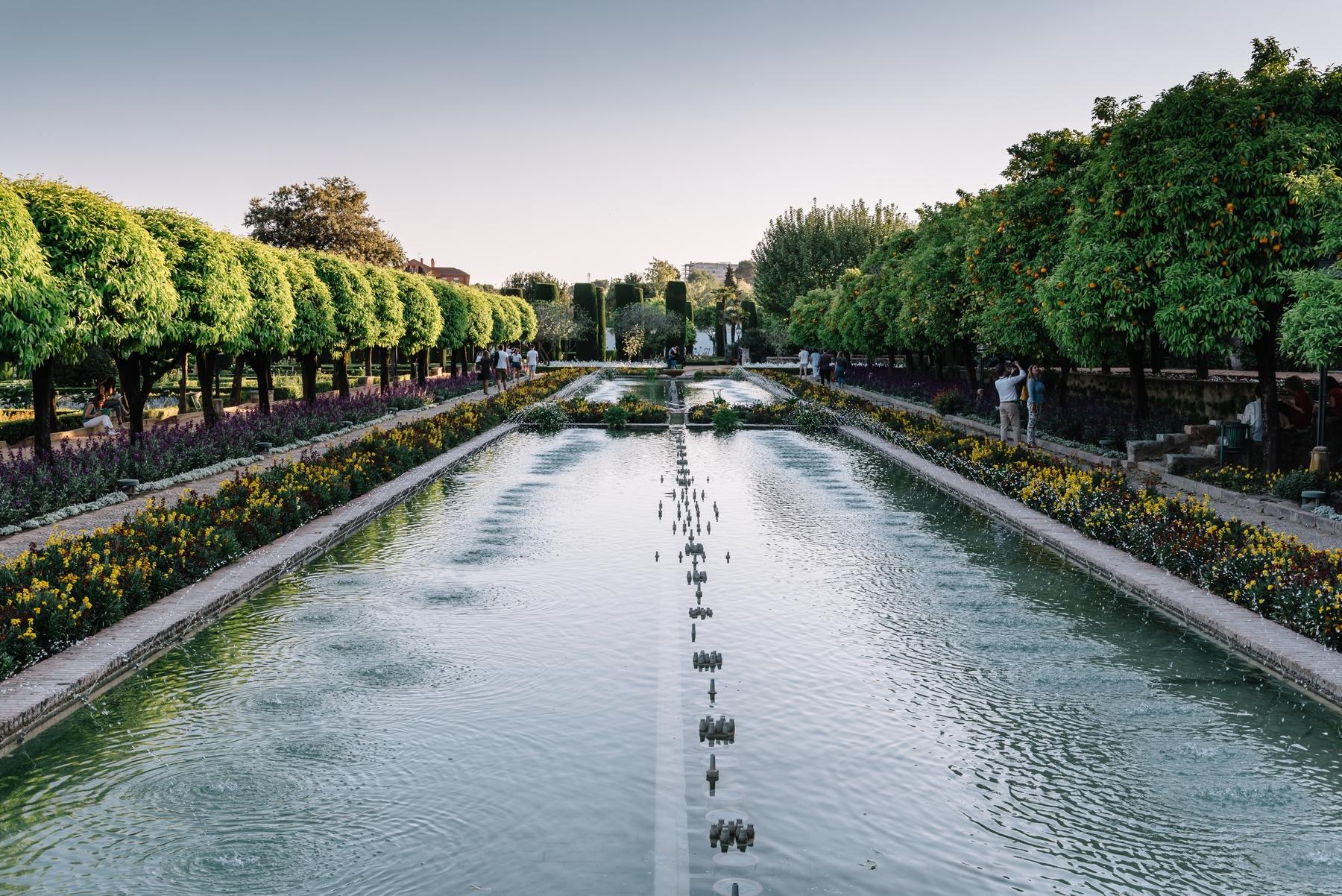 Visitar Córdoba: jardines del Alcázar de los Reyes Cristianos