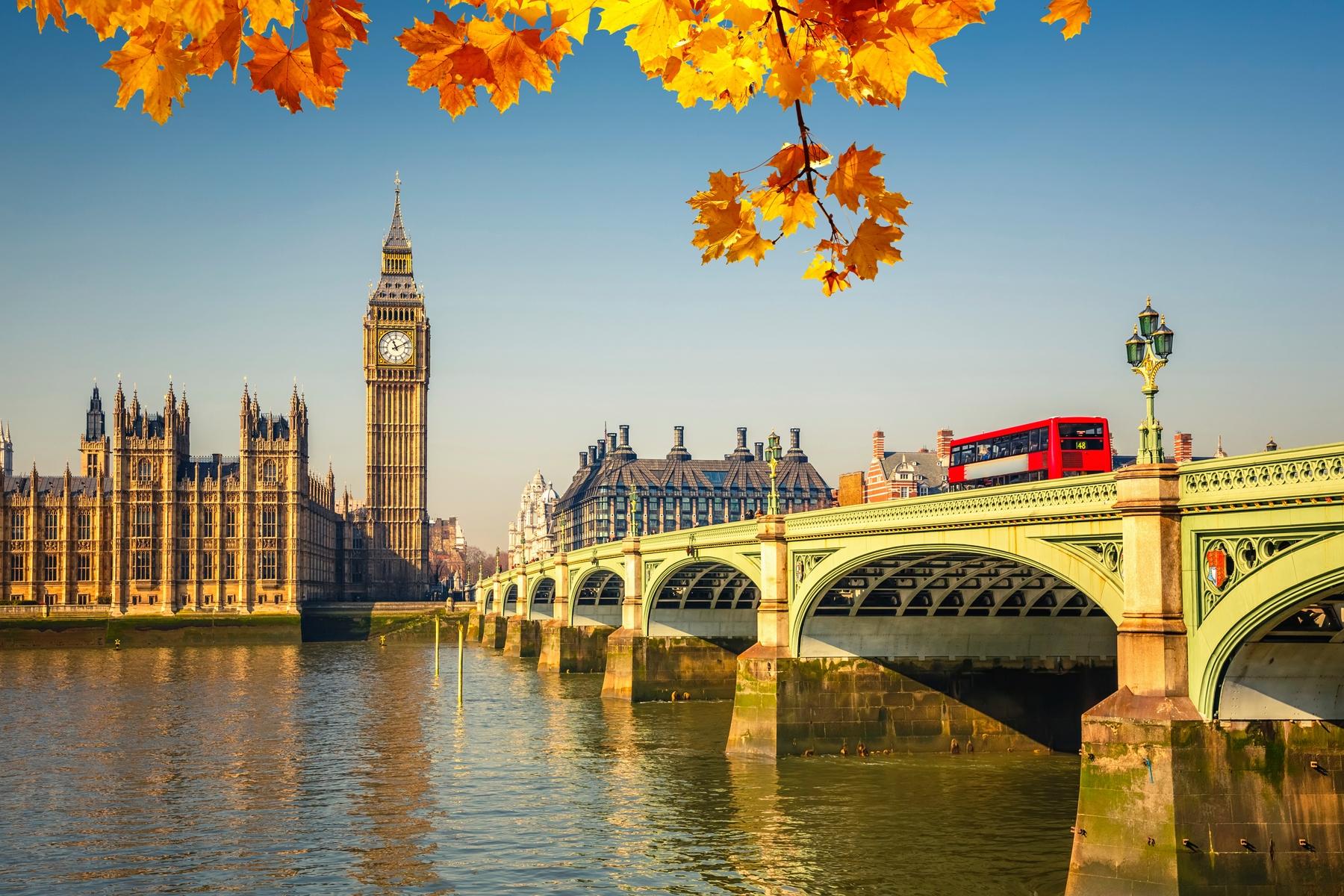 Londres - destino de intercâmbio em que é necessário planejar a viagem com um ano de antecedência
