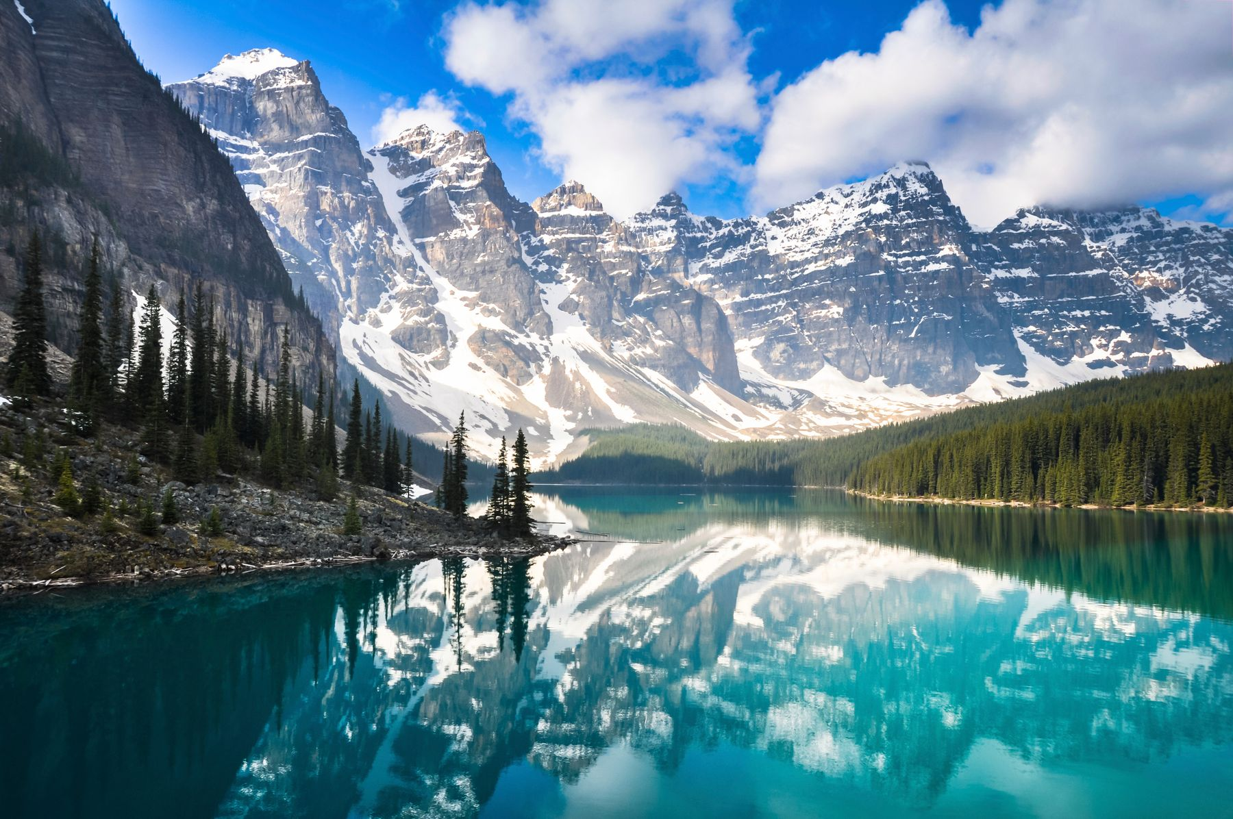Lake Louise in the Canadian Rockies, a dream vacation destination