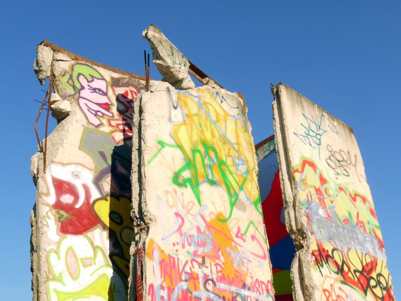 Artwork on the Berlin Wall