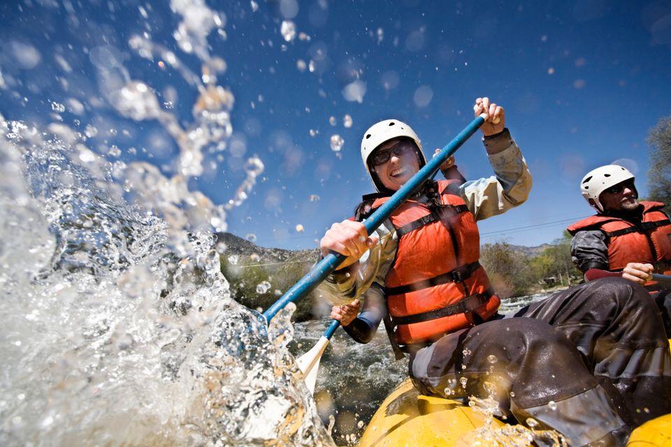 Rafting στον ποταμό