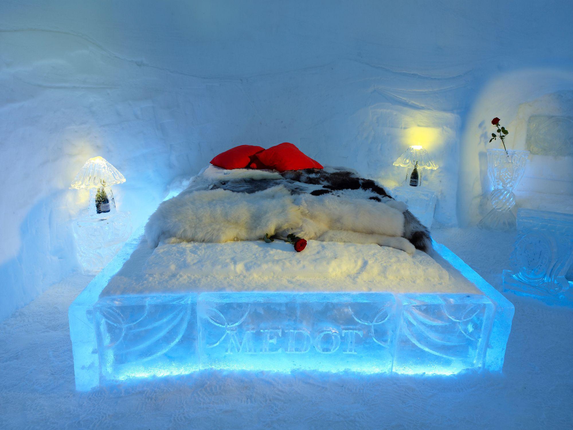 Eskimo Village Slovenia romantic igloo @ Eskimo Village