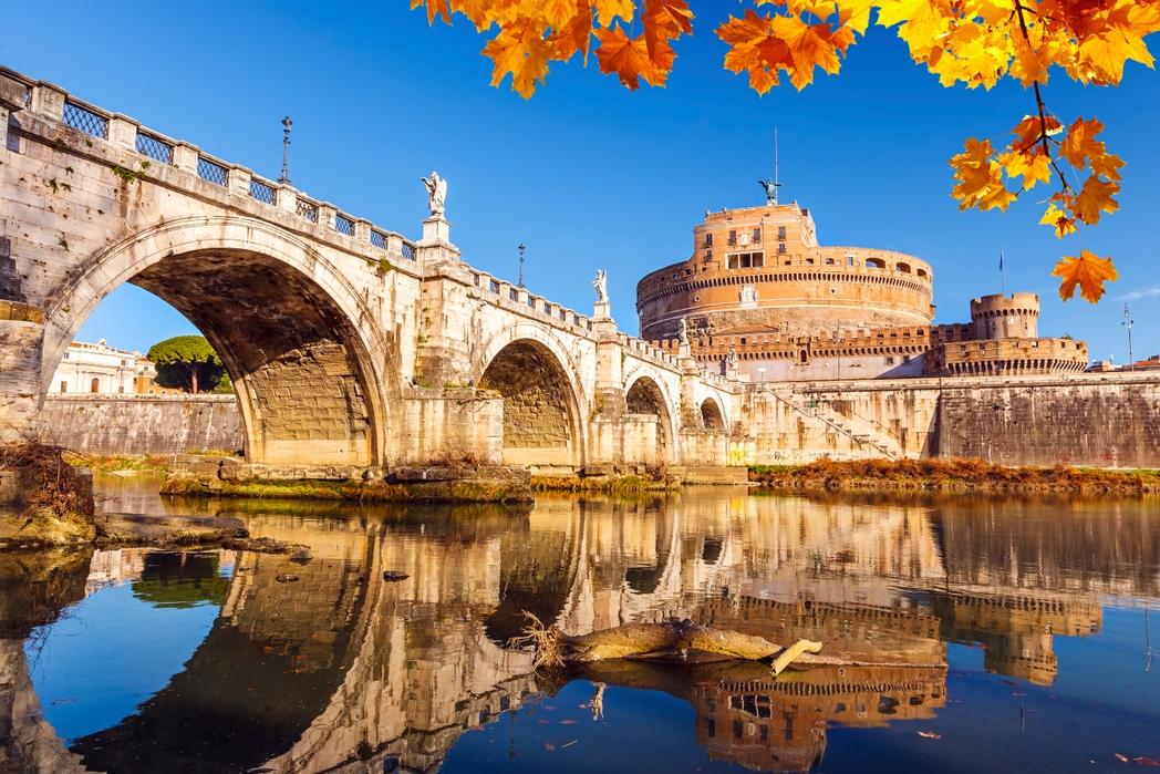 Φθινοπωρινά φύλλα στη Ρώμη