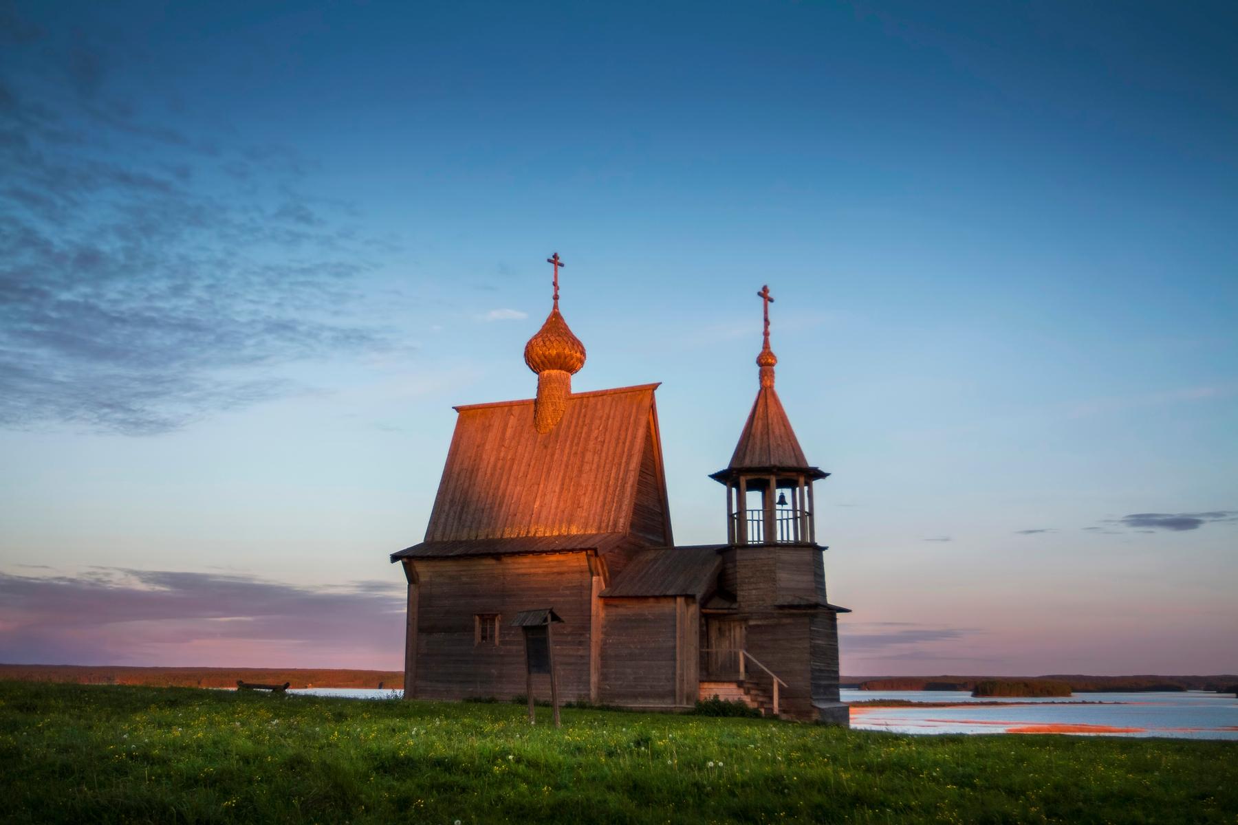 Самые красивые деревни России — Вершинино под Архангельском