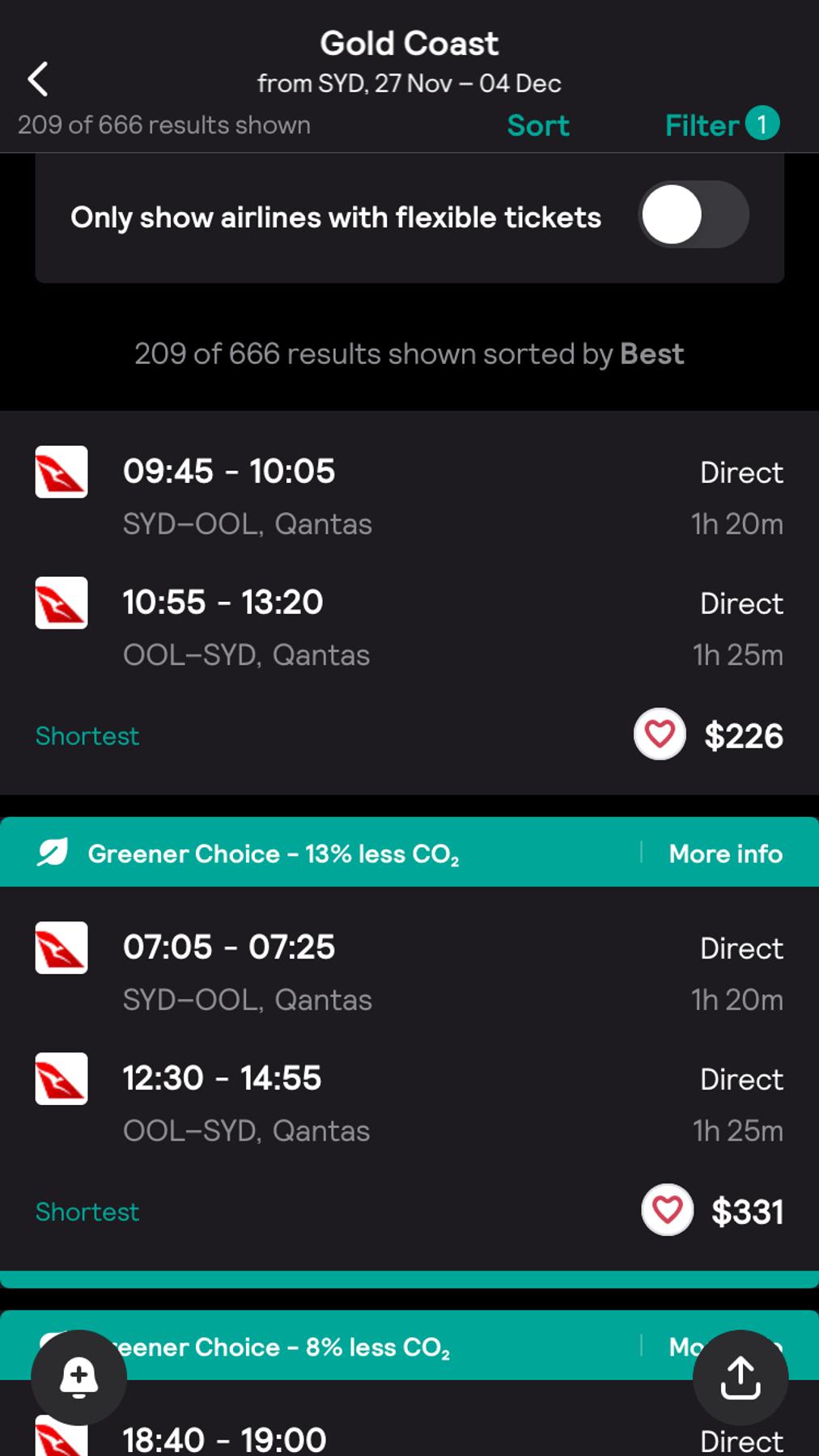 Skyscanner app black friday deal