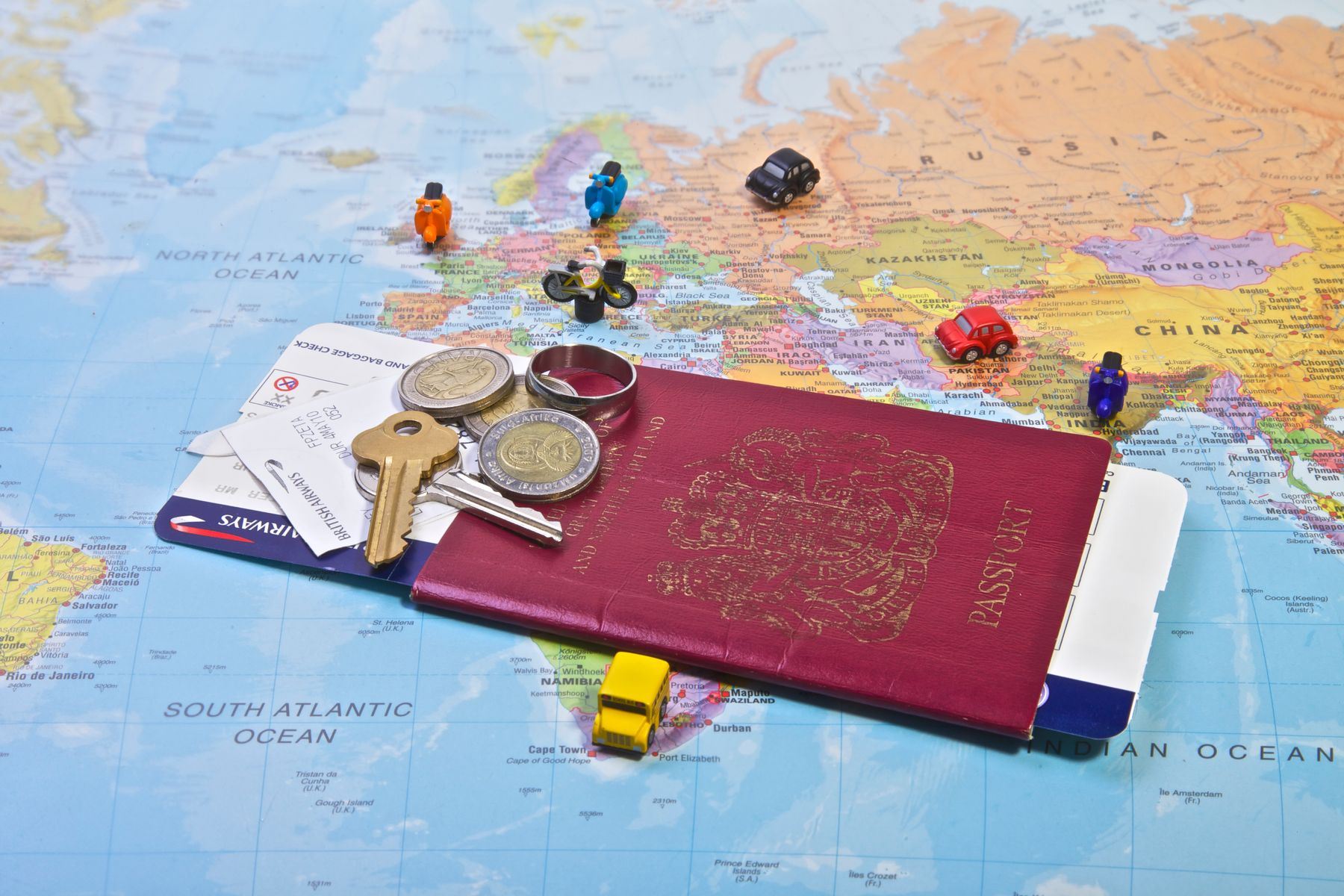 A passport with stamps from all over the world becomes easier to achieve if you book multiple-city flights with Skyscanner
