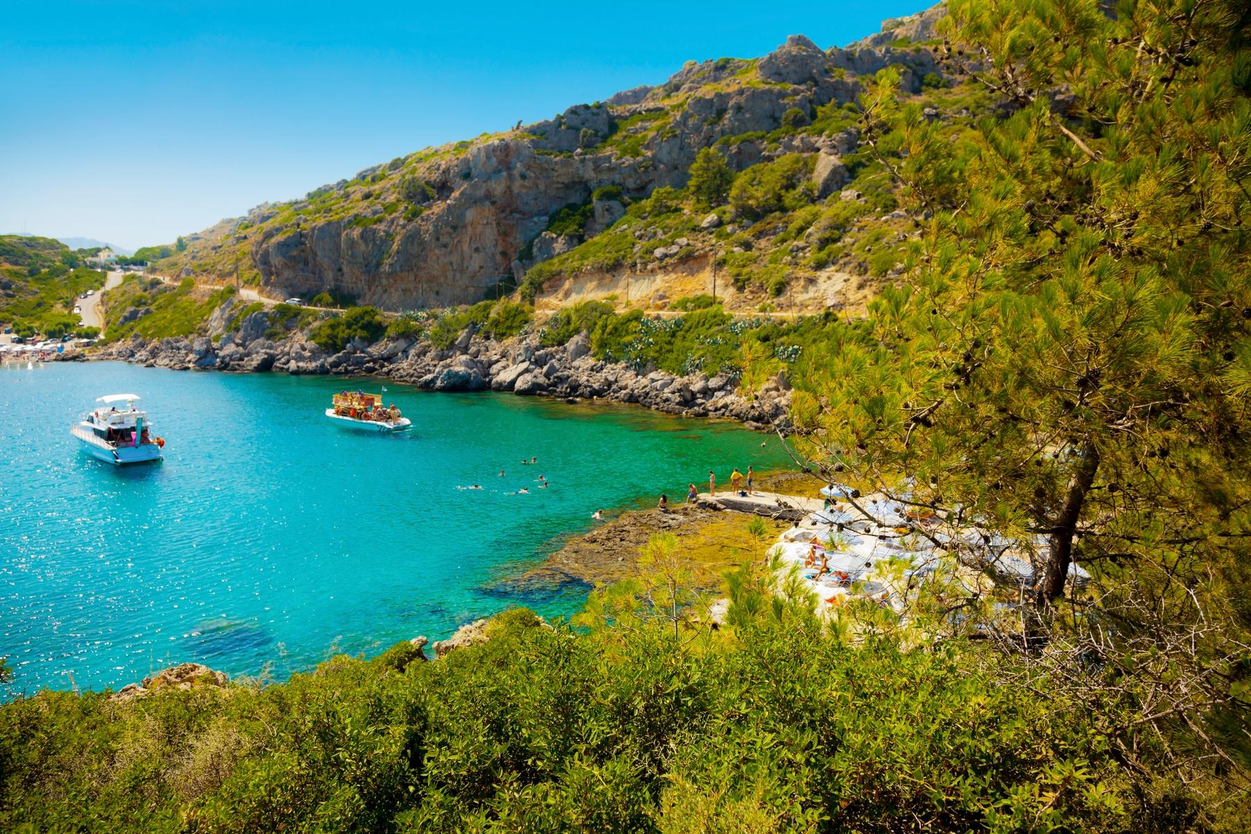 Wyspy greckie. Rodos, czyli róża