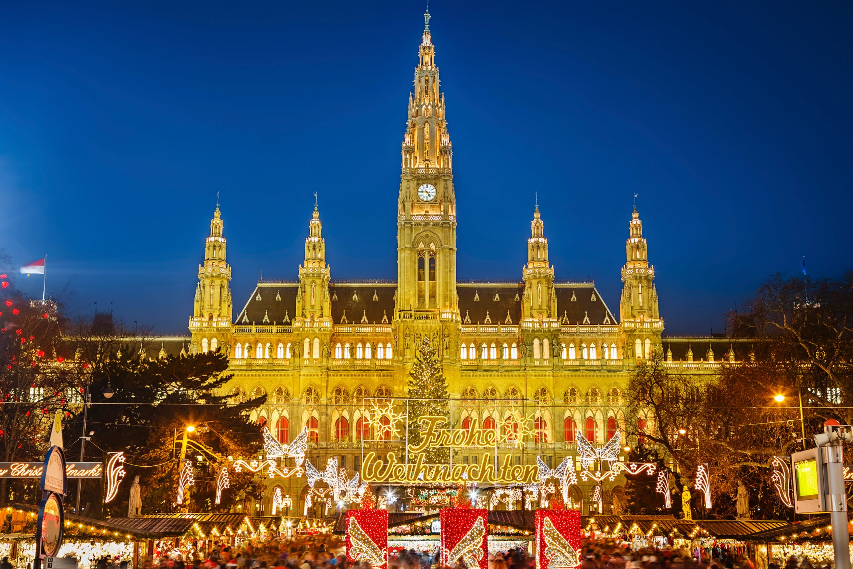 Рождественская ярмарка в Австрии.
