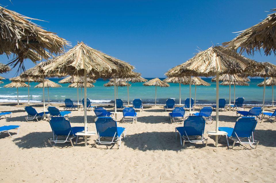 Οργανωμένη πλαζ στη Ζάκυνθο - οι παραλίες είναι must σε ένα ταξίδι στη Ζάκυνθο
