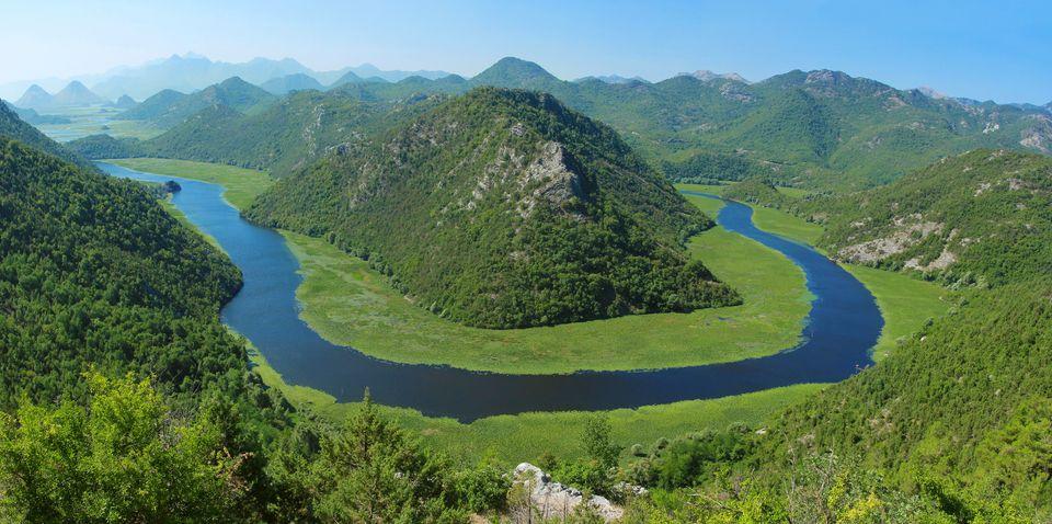 Скадарское озеро, Черногория и Албания