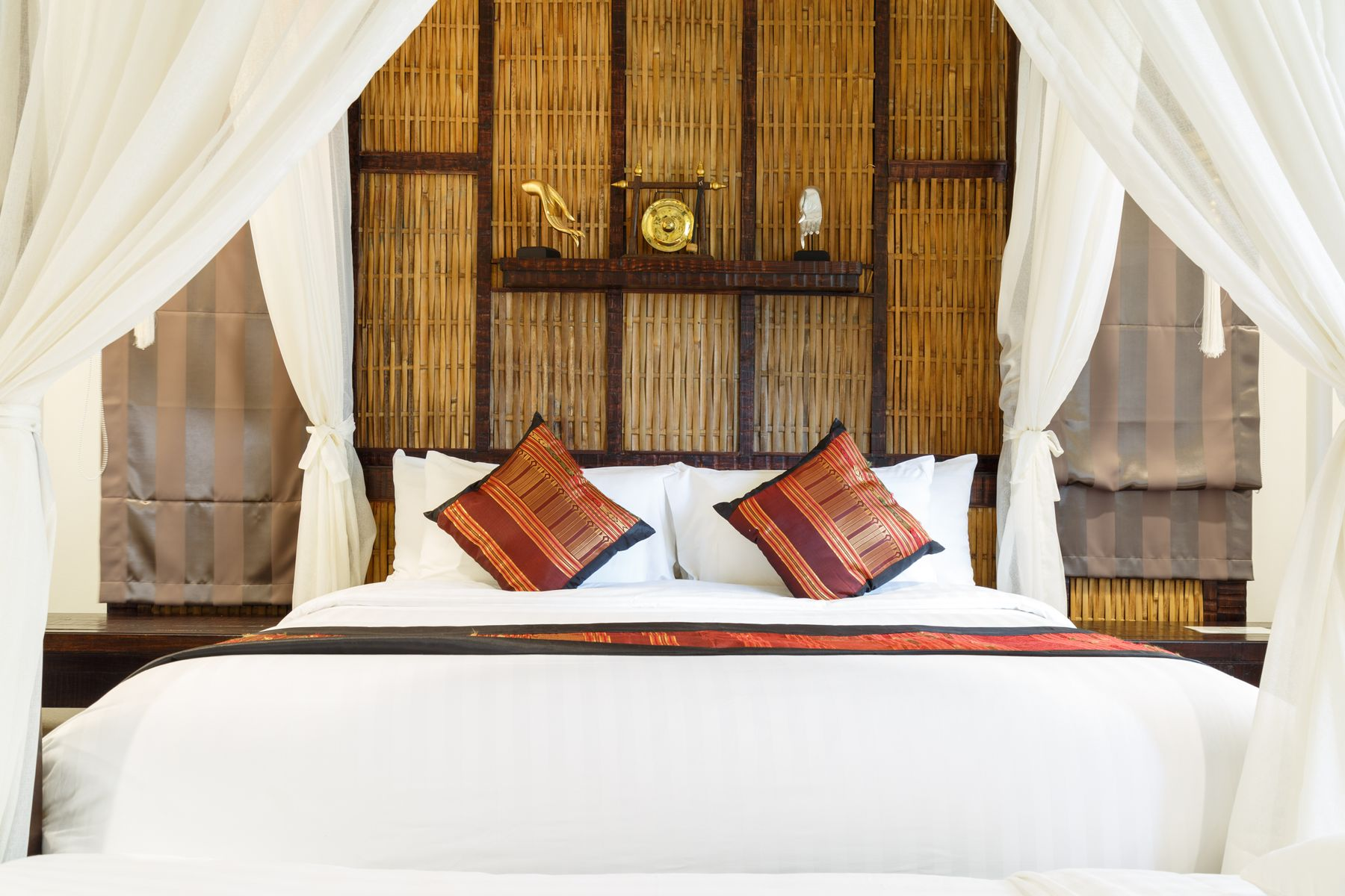 Luxurious hotel room that needs cancellation