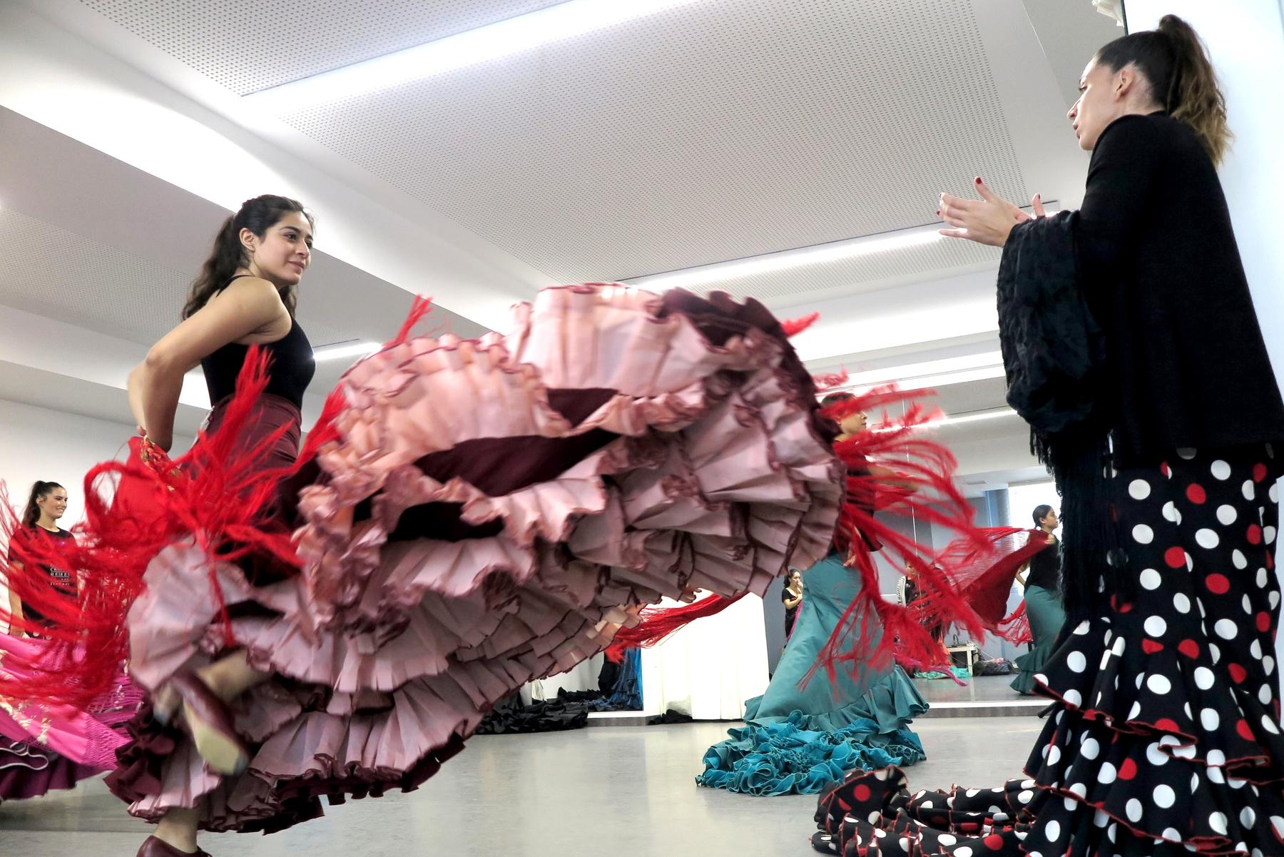 La Fundación Cristina Heeren lleva más de 20 años trabajando por acercar el flamenco a alumnos llegados de todo el mundo.