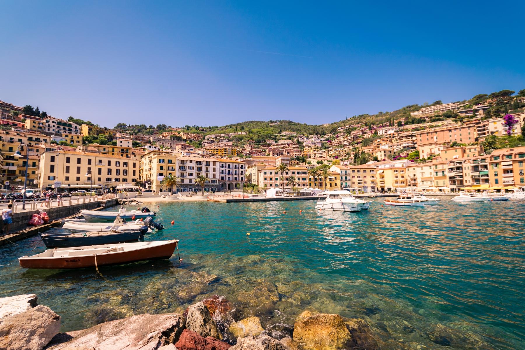 Città sul mare in Italia - Porto Santo Stefano