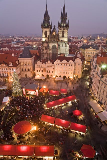 Christmas market in Prague - Top 10 Christmas and New Year holidays for 2019/2020
