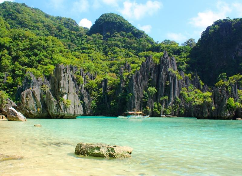 A beautiful beach in El Nido, Palawan Philippines