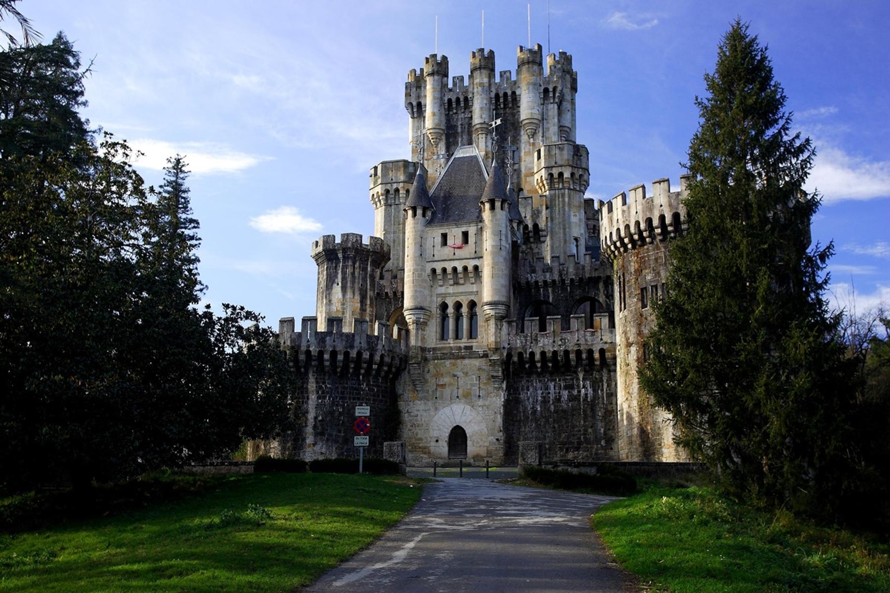 Castillo de Butrón que ver en Uribe
