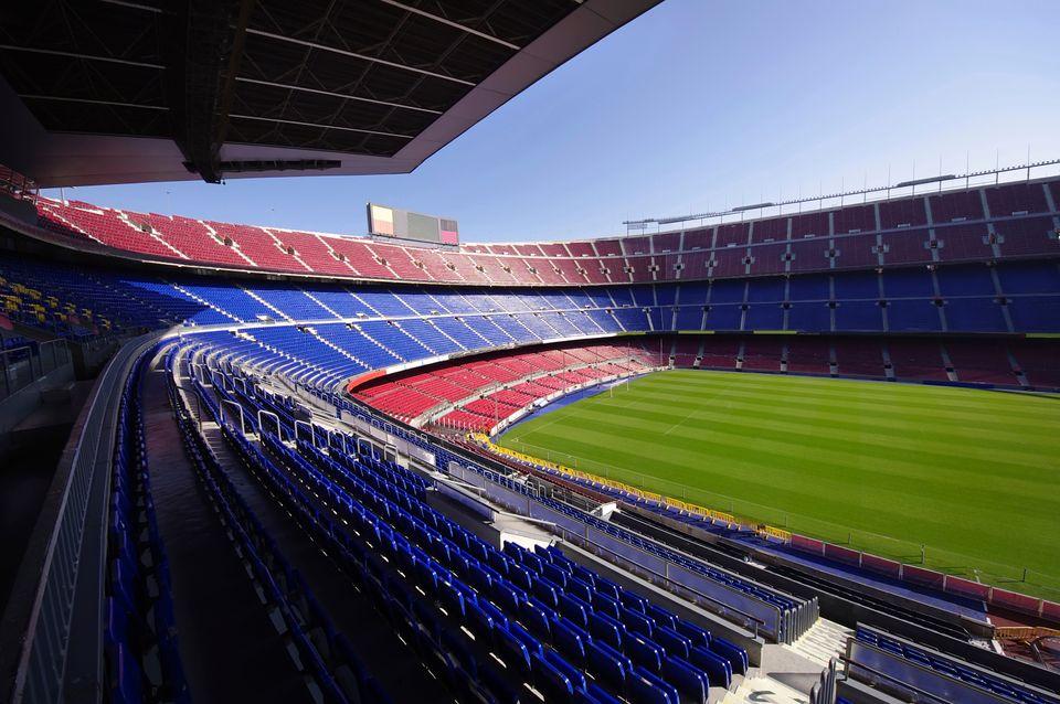 Camp Nou, Barcelona's famous stadium - 5 best weekend breaks for students