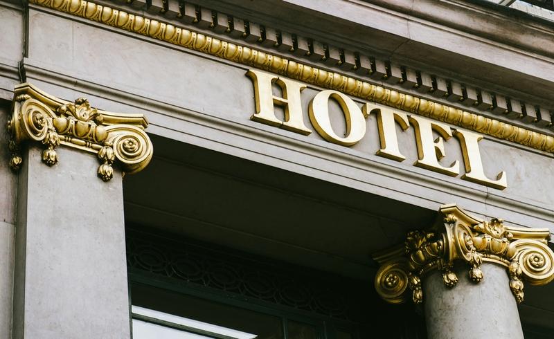 海外ホテル外観
