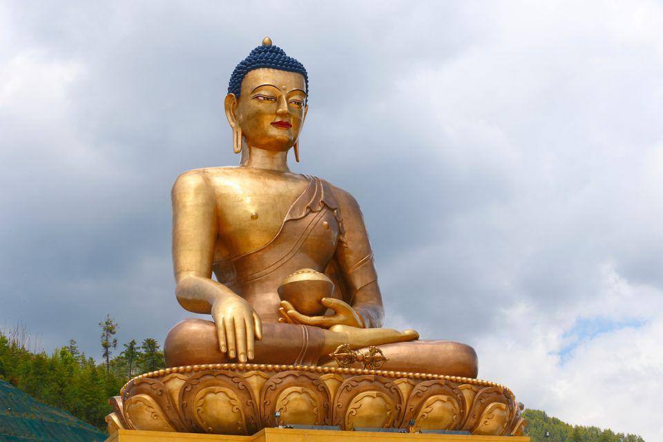 Sehenswürdigkeiten Bhutan: Buddha Dordenma, Thimphu