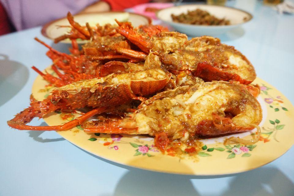 インドネシア ロブスター料理 ティマンビーチ|ジョグジャカルタ