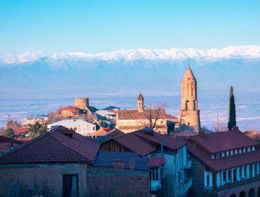 Город Сигнаги в Кахетии, Грузия