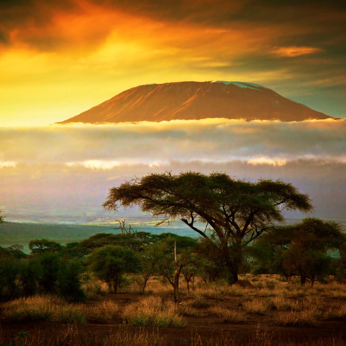 Die schönsten Reiseziele Afrikas: Berg Kilimandscharo, Tansania