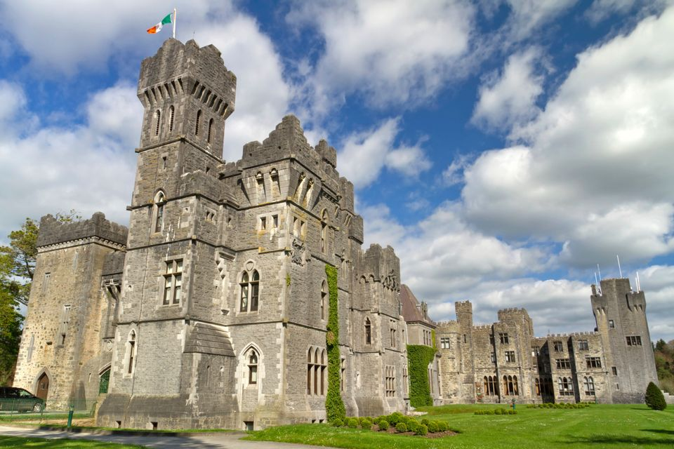 Ashford Castle - one of the most luxurious castle hotels in Ireland