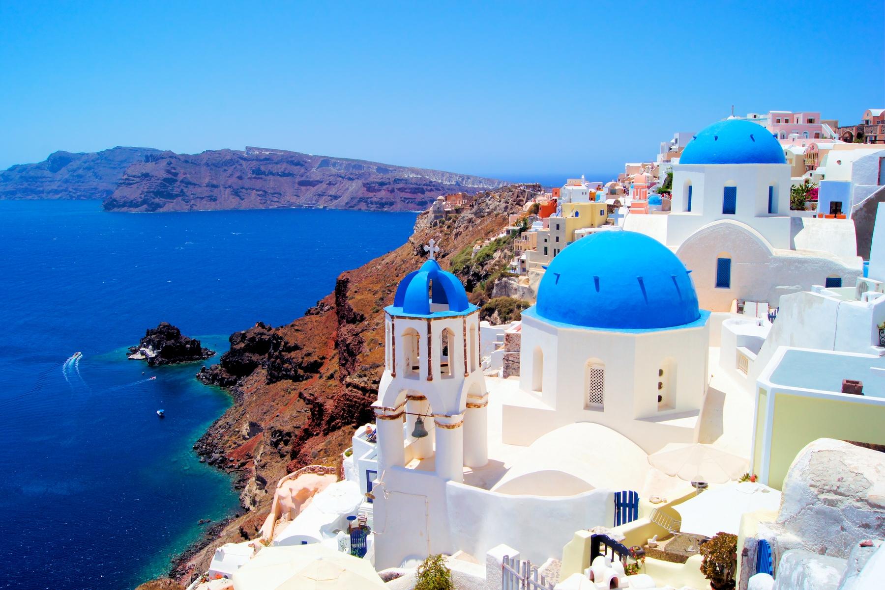 As 20 ilhas gregas mais bonitas: Santorini