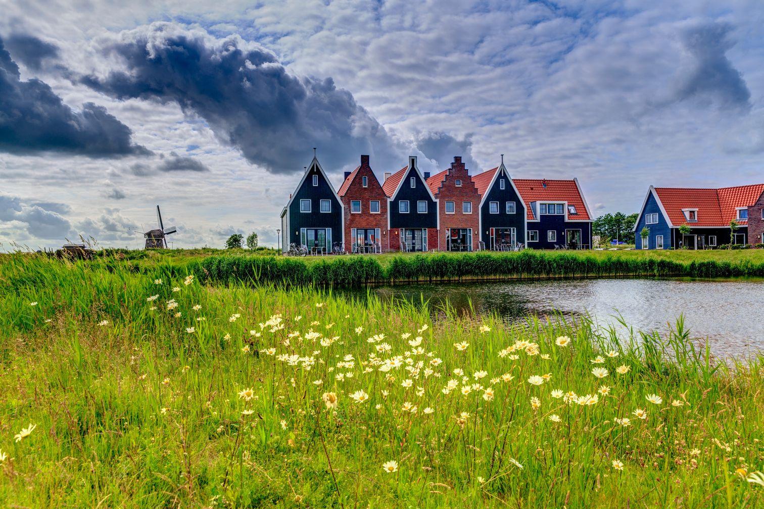Volendam, viaggio in olanda in Camper