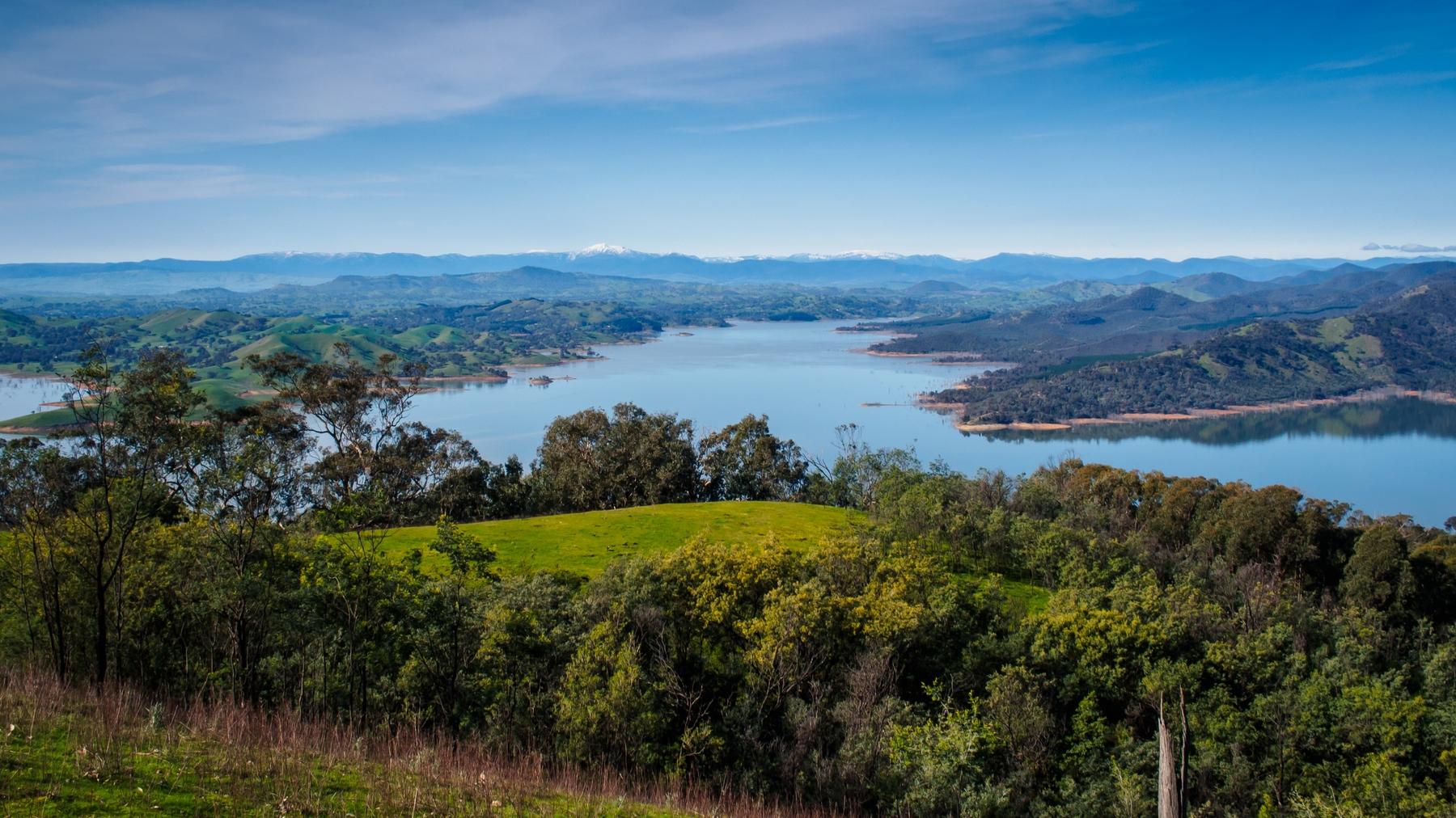 Lake Eildon in Victoria
