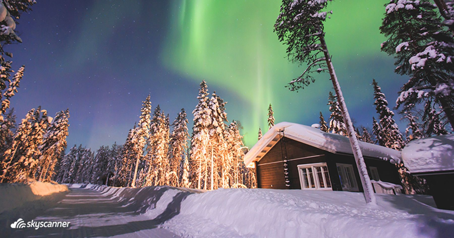 Admirer les aurores boréales en Laponie