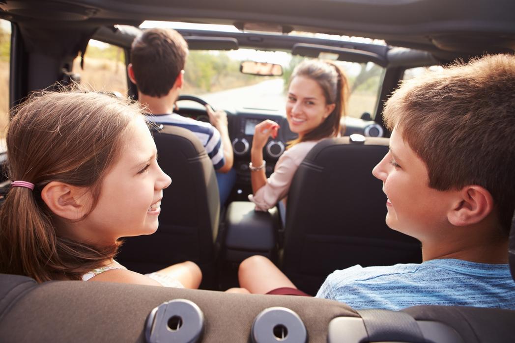 Οικογενειακό road trip. Ταξίδι με παιδιά στο αυτοκίνητο