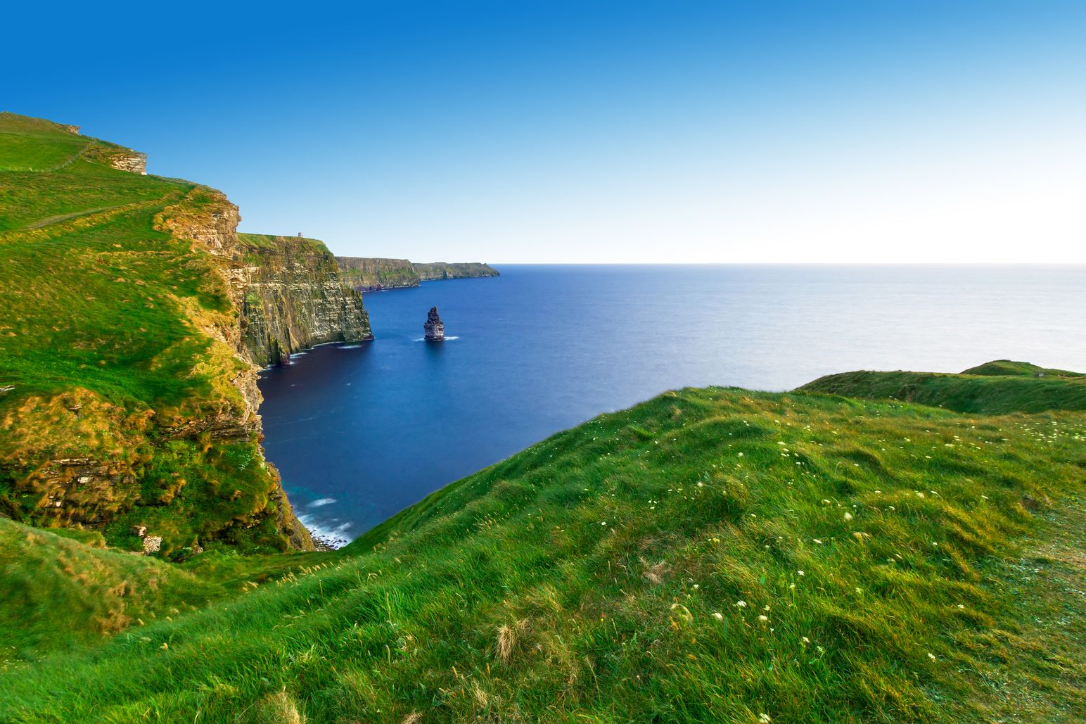 The Cliffs of Moher, County Clare are one of the most spectacular filming locations in Ireland