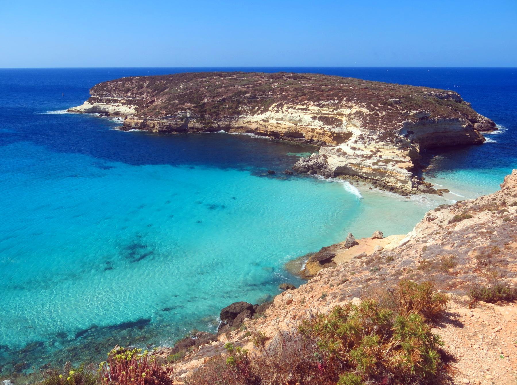 spiagge più belle della Sicilia: Isola dei Conigli
