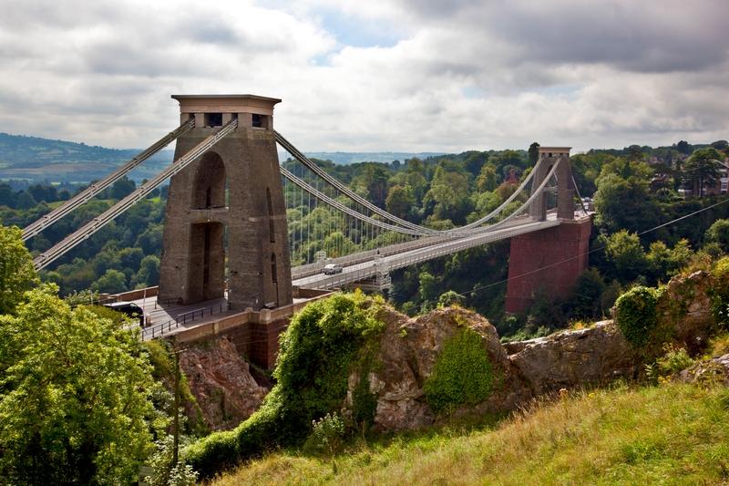 The Clifton Suspension Bridge in Bristol, UK