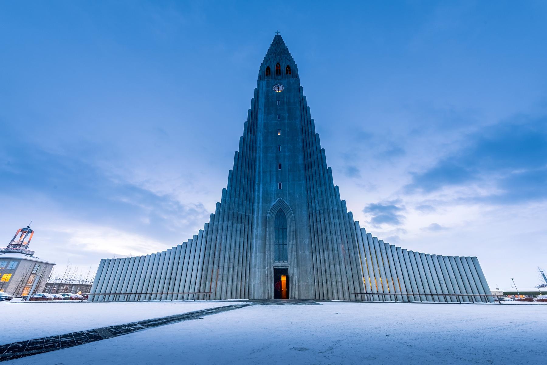 Église Hallgrimskirkj à Reykjavik