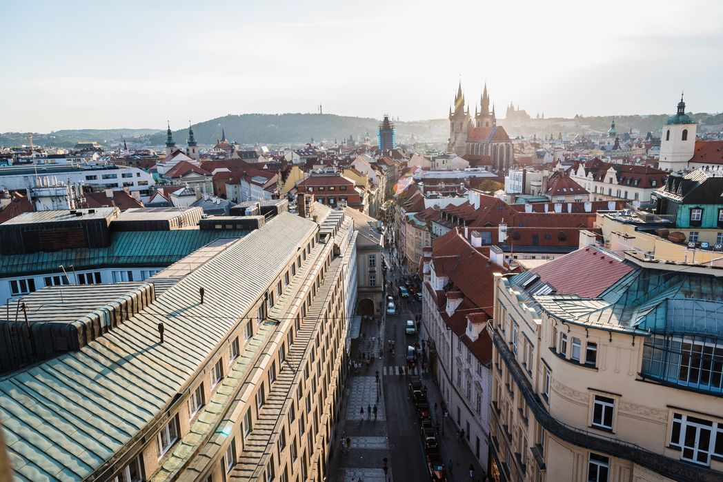 Πανοραμική θέα της Πράγας, Τσεχία