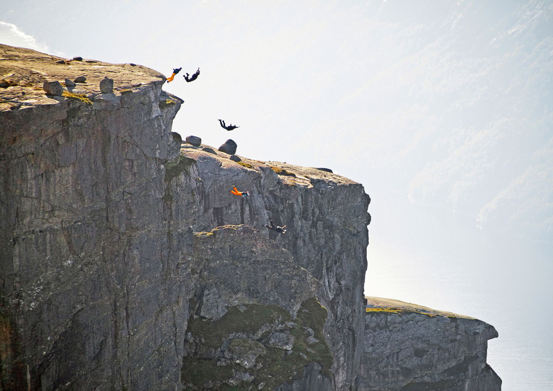 Erlebnisreisen in Norwegen: Base-Jumping