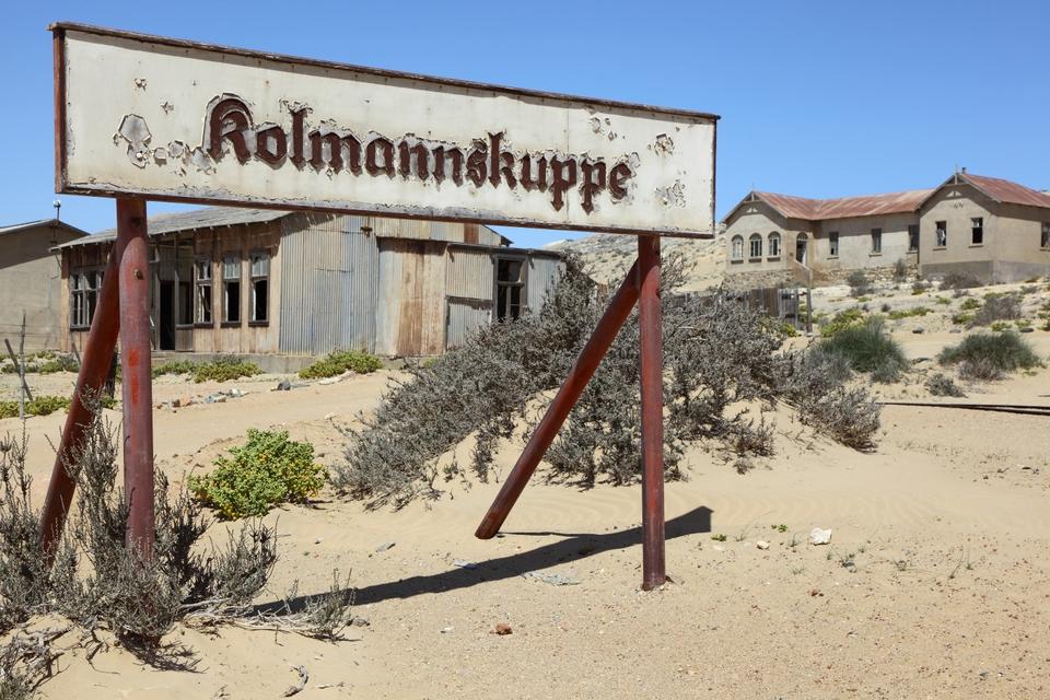 Viaggio in Namibia: Kolmanskop
