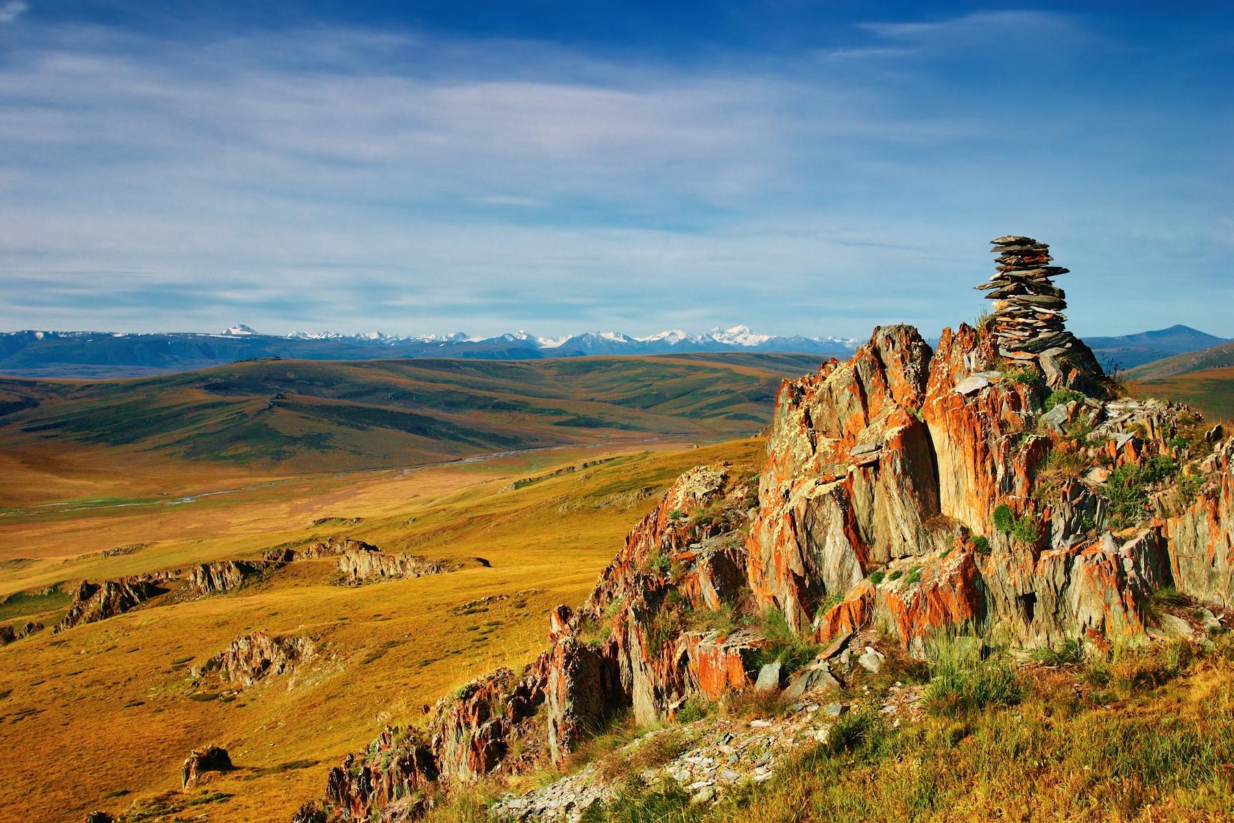 Пейзажи России. Плато Укок в Алтайском крае