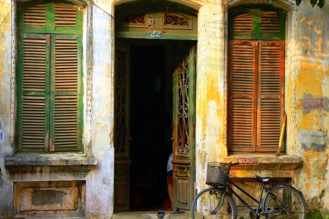 Παλιό σπίτι στο Ανόι του Βιετνάμ