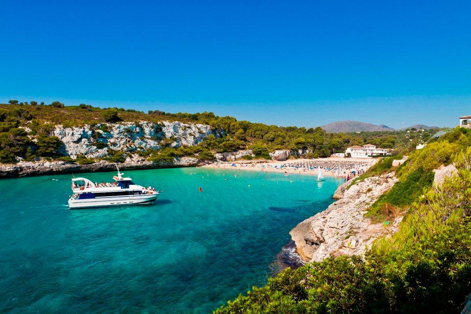 Сравнение пляже Италии или Испании