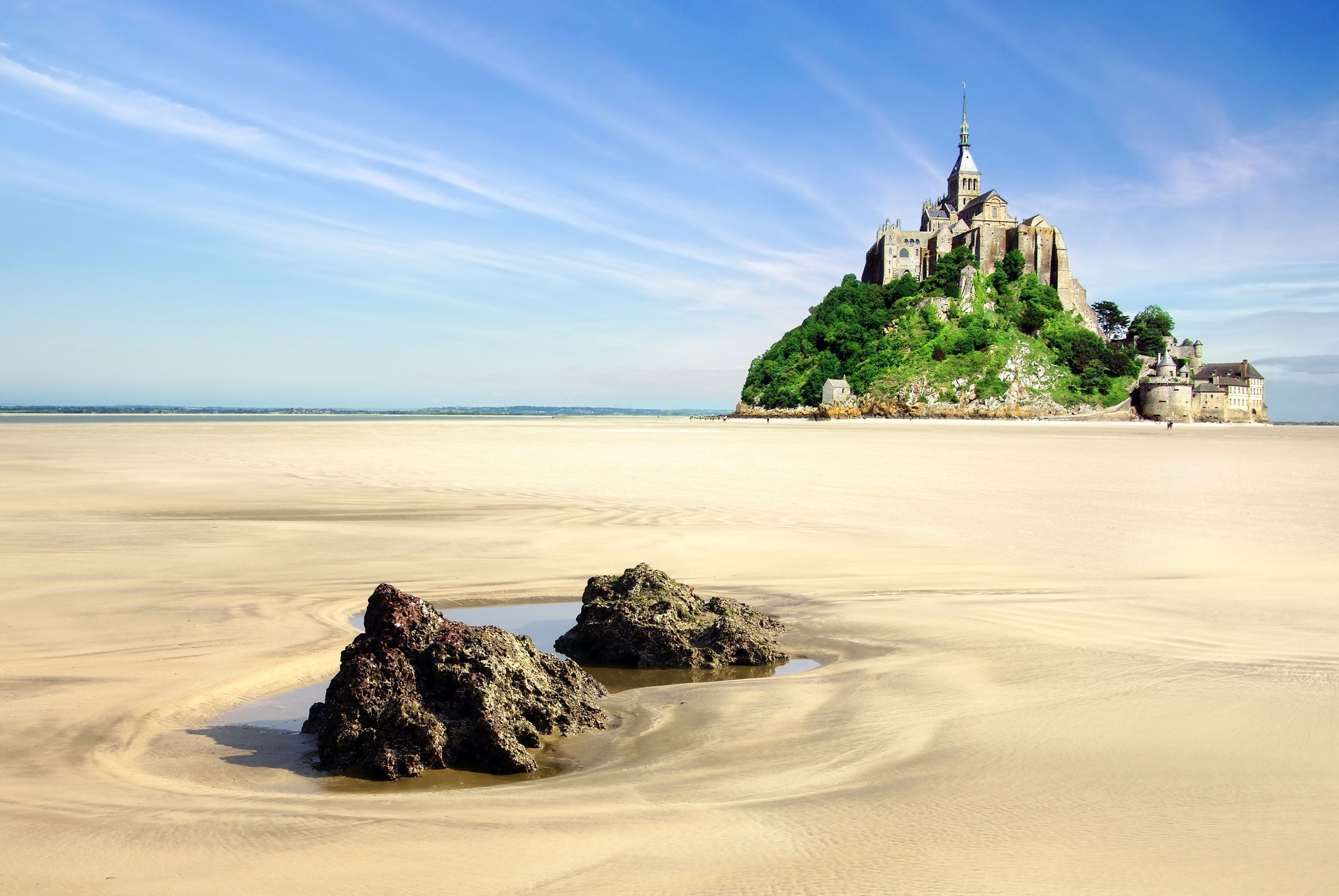 Mont Saint-Michel in Brittany is a great family destination